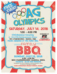 Bbq Poster Extension Office 4 H Bbq Poster Ag Olympics 951 The Bull