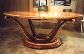 awesome art deco dining table with regard to hand crafted by louis fry craftsman in wood