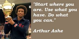 Arthur Ashe Quotes Cool 48 Arthur Ashe Quotes No Matter How Your Truly Feel Inside Always