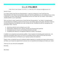 Hotel Hospitality Guest Service Representative Modern X Cover Letter