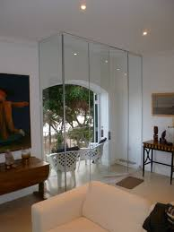 frameless glass doors internal