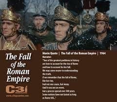 the fall of the r empire rdquo movie history released  ldquothe fall of the r empirerdquo movie history released 1964