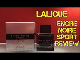 <b>Lalique Encre Noire Sport</b> Review - YouTube