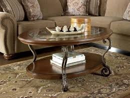 vanity mallacar coffee table of ashley furniture round and end sets ashley