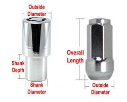 Lug Nut Size Chart How To Choose Correct Wheel Lug Nuts Size Or Wheel Locks For