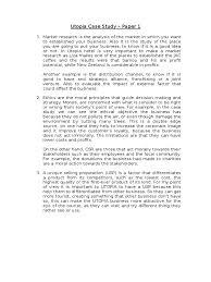 utopia case study paper docx