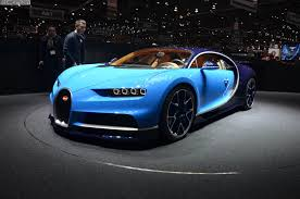 Bugatti Chiron With Horsepower