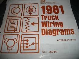 ford f io 1981 ford f 600 f600 f 800 f800 cowl wiring diagrams se