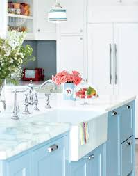 Blue Painted Kitchen Cabinets Kitchen Room Design Kitchen Light Blue Shabby Chic Painted