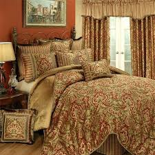 red and gold comforter set red brown and gold comforter sets 4 piece set by horn red black and gold comforter sets