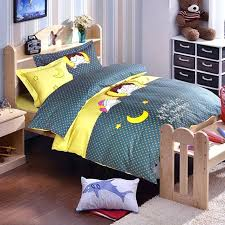 childrens duvet covers twin childrens bedding sets twin cartoon boys polka dot moon applique embroidered bedding full