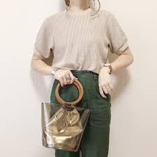 おしゃれな人のクリアバッグの選び方デザイン別コーデ25選 Locari