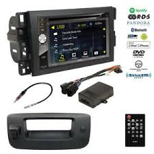 Double DIN Bluetooth USB Stereo+Backup Camera+Chevy Pickup Truck ...