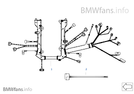 engine wiring harness engine module bmw 7 e65 740i n62n europe engine wiring harness engine module