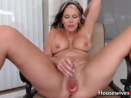 Cougar likes to masturbate
