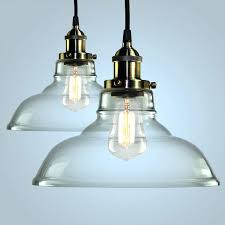 clear glass shades for chandeliers seeded glass pendant shade replacement large light colored lights blown lighting
