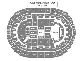 Wwe Live Seating Chart Wwe Monday Night Raw Staples Center
