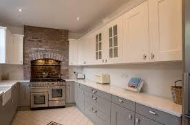 Shaker Kitchen Shaker Kitchen White And Grey Shaker Panorama Kitchens Liverpool