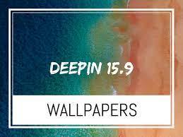 Deepin 15.9 Default Desktop Wallpapers ...