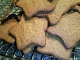brune kager  ginger cookies