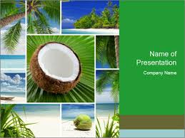 photo collage template powerpoint coconut collage powerpoint template backgrounds google slides