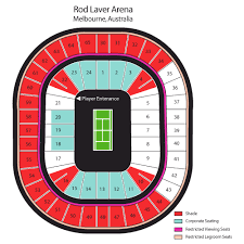 Australian Open Tennis Tickets Schedules And Seating Chart