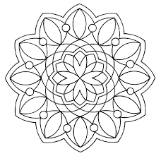 Small Picture Mandala Coloring Pages Printable Free Colouring Pages Coloring page