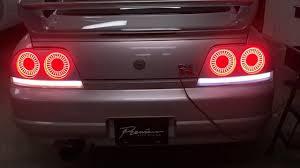 R34 Gtr Rear Lights Skyline Gtr R33 Insane Custom Taillights Completed