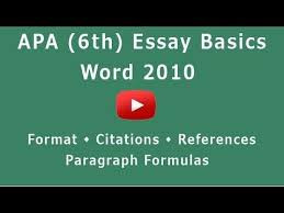 essay using apa format How To Win An Essay Writing Contest essays power