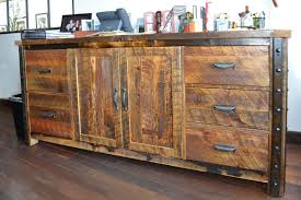 rustic lodge log and timber furniture handcrafted from green reclaimed heart pine and northern white cedar
