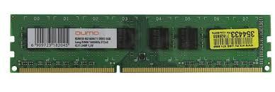Купить <b>Модуль памяти</b> DIMM DDR3 8 Gb PC-12800 <b>Qumo</b> 1.5V в г ...