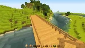 Wooden Bridge Game Minecraft Making a simple wooden bridge YouTube 36