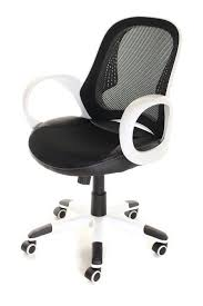 mesh task chair office low back black white by timeoffice black and white office furniture