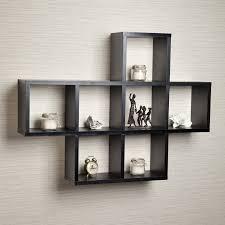 Floating Display Shelves floating wall storage shelves - cameras display,  bookcase, living
