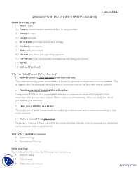 Research Writing Journalistic Writing Lecture Handout Docsity