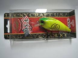 Details About Lucky Craft U S A Fat Cb B D S 3 Buta Chart Color Lure Magazine Limited Nip
