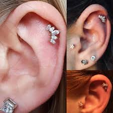 Detail Feedback Questions About 1pc Steel Ear Tragus Cartilage Ear