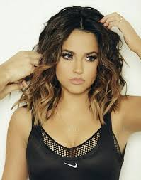 Dark Brown Black Ombre With Blonde Or Copper Ends Short Wavy