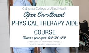 physical therapist aide physical therapy aide hands on training program