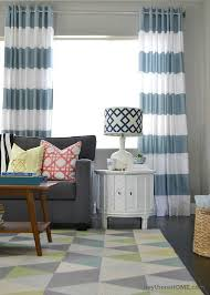 how to make grommet top curtains