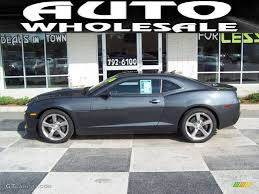 2010 Cyber Gray Metallic Chevrolet Camaro SS/RS Coupe #54683996 ...