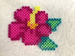Perler Bead Flower Patterns