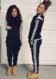 adidas outfits. matching adidas track suit and timberlands outfits