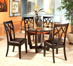 round glass dining table set tall round kitchen table sets image of round glass kitchen table