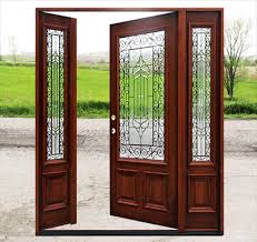 mahogany front door. Mahogany Front Door With Glass N