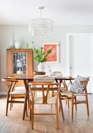 allandale mid century mod boho dining room