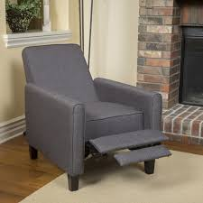 compact recliner chair. The Lucas Smoky Recliner Chair Compact