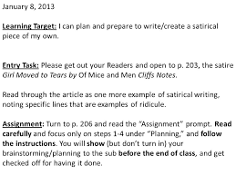 welcome in order to get to know you please give   8 2013 learning target i can plan and prepare to write create
