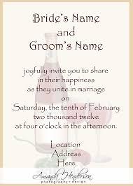 Wording For Wedding Invitation Vertabox Com