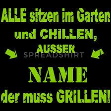 Lustiger Grill Spruch Schürze Spreadshirt